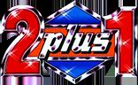logo 2 plus 1